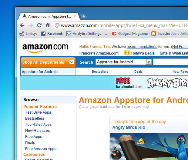 Amazon Launches Android Appstore