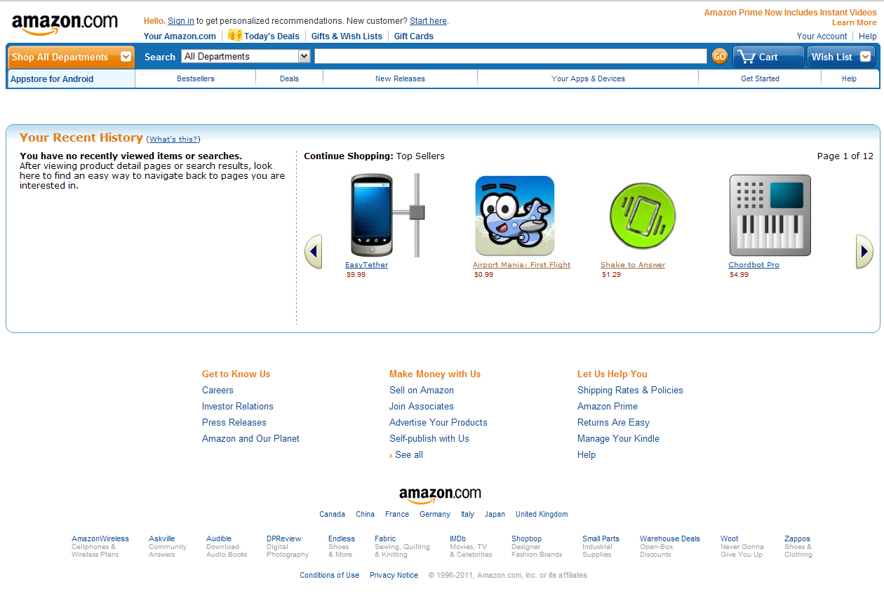 amazon apps 1 Amazons Android Appstore app pricing strategy revealed