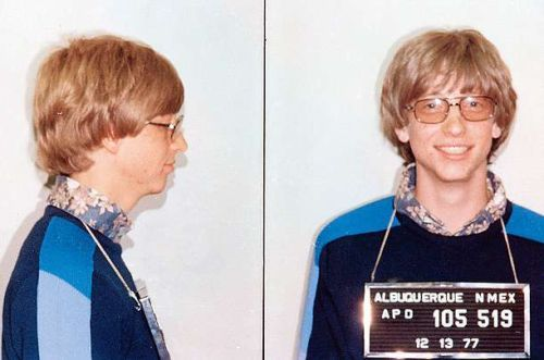 bill gates mugshot This week at Microsoft: Bill Gates, OneVision, and musical Paint