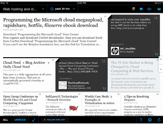 broadfeed1 BroadFeed: An elegant social magazine for Twitter on the iPad
