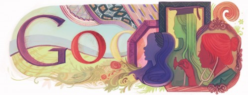 doodle womensday11 hires 500x193 Google Doodle: 100 years of celebrating women