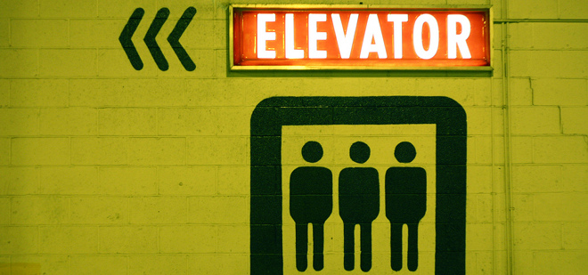Listen to startups give elevator pitches to a top VC – in elevators.