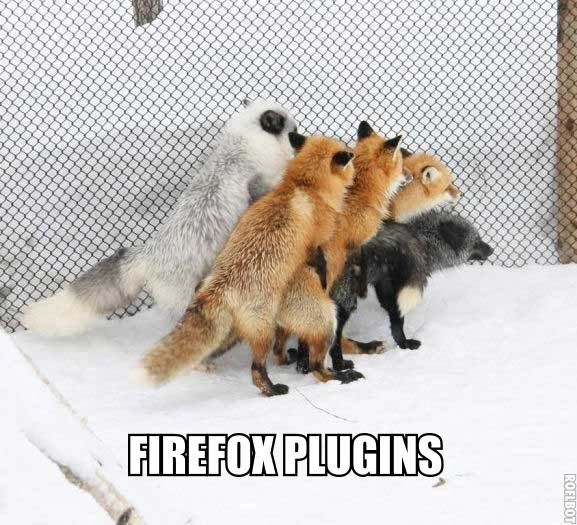 These new Firefox plugins are a bit invasive.