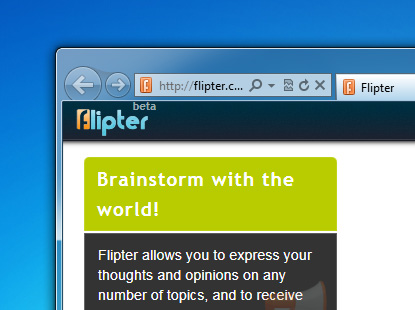 Face off ideas and get quick feedback with Flipter