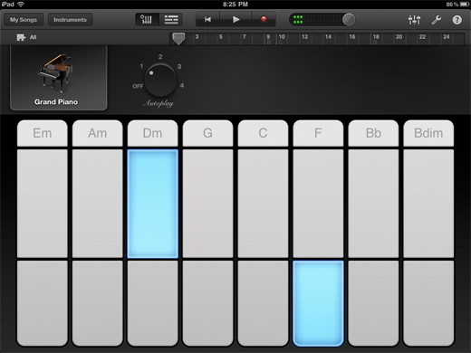 gb18 TNW Review of GarageBand for iPad