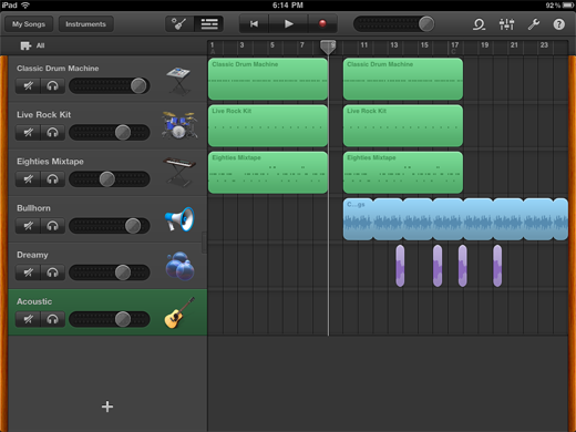 gb3 TNW Review of GarageBand for iPad