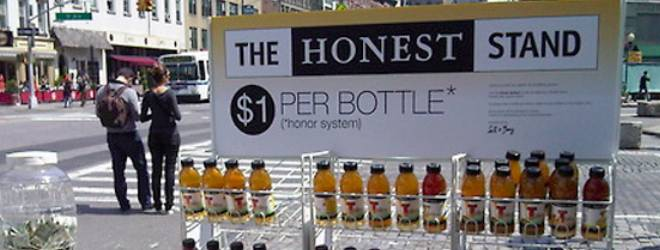 Honest Tea tests America's honesty in its latest brand campaign