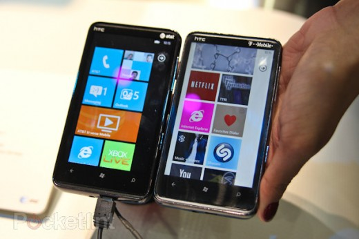 htc hd7 vs hd7 screen 0 520x346 What is a Super LCD display? The HD7 versus the HD7S