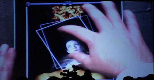 iPad Photoshop Add Layer Adobe demos Photoshop for the iPad