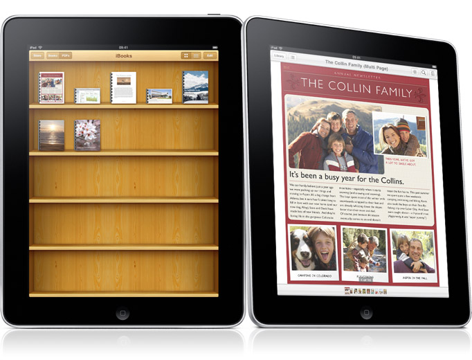 Apple partners with Random House, makes 17,000 ebooks available via iBooks