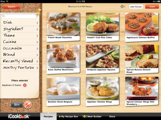 icookbook2 iCookbook: An elegant, voice controlled cookbook for iPad