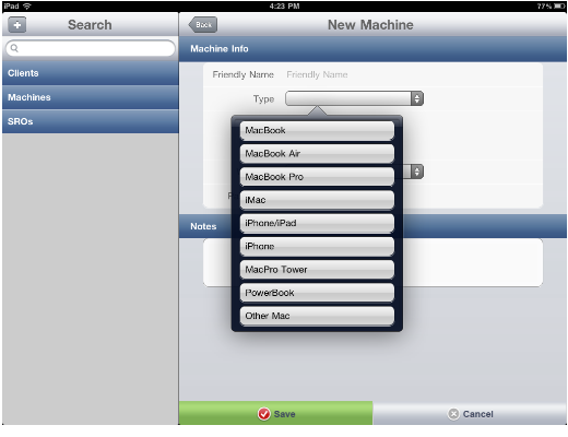 ifix1 iFix: A handy iPad app for computer technicians