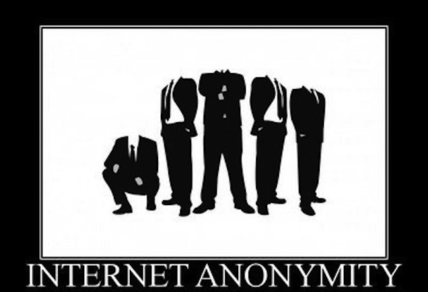 Is the fabric of the Internet built on anonymity?