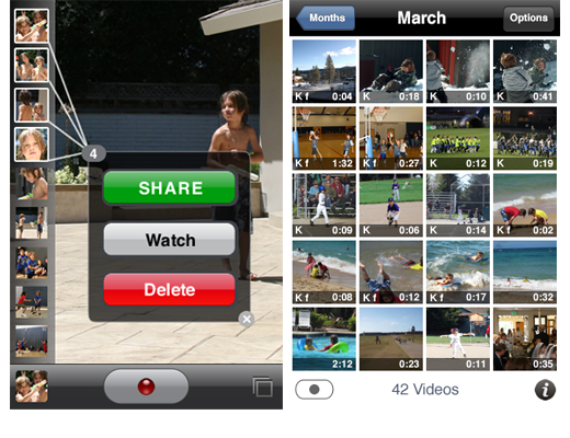 kinkast KinKast: An iPhone app for sharing, trimming and storing videos