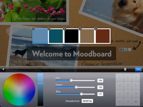 moodboard 5 iPad Apps for Wireframing & Brainstorming