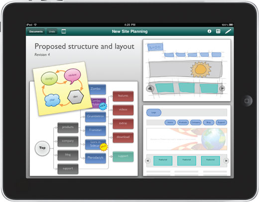 omnigraffle 5 iPad Apps for Wireframing & Brainstorming