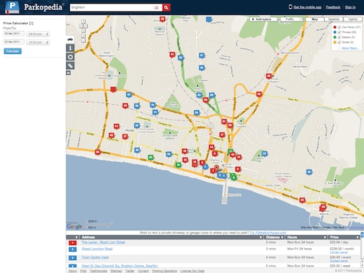 parkopedia web Parkopedia helps you find parking spaces in over 5700 towns in 20 countries
