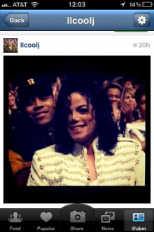 photo 2 220x330 Instagram gains pop culture status. Im now following LL Cool J.