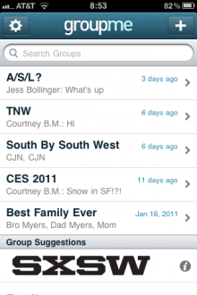 photo 4 220x330 SXSW: GroupMe says its going global. First, it adds new social features.