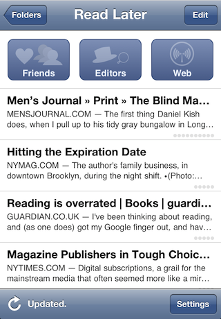 Instapaper just became a social network
