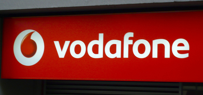 Vodafone UK website hijacked by tax protesters