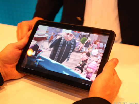 Sprint-branded Motorola Xoom spotted, could ship with 4G Wimax