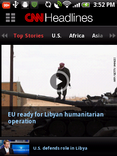 11 CNN App launches for Android phones