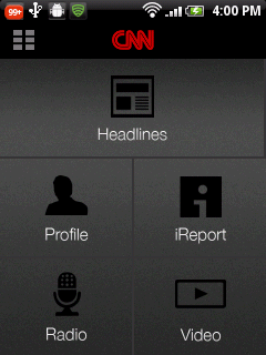 2 CNN App launches for Android phones