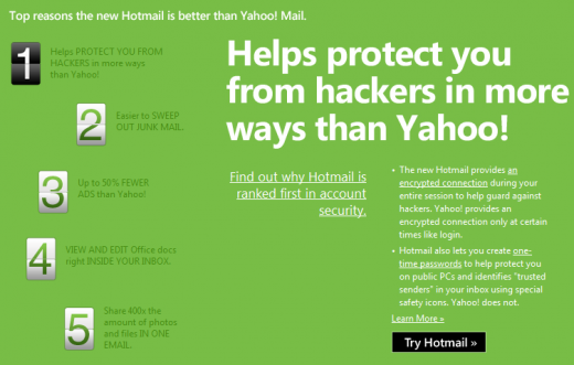2011 04 19 1622 520x331 Microsoft attempts to woo Yahoo! Mail users to Hotmail