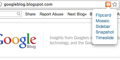 3001 1 Blogger.coms new Chrome extension lets you choose a blogs design