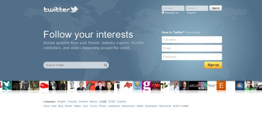 6eef8fdf88f40cdc79126c545e7f4414 full 520x254 Twitter unveils a new homepage, with a focus on interests