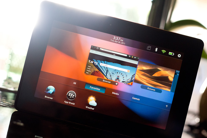 Review: The BlackBerry Playbook, Thoughtless and Untested