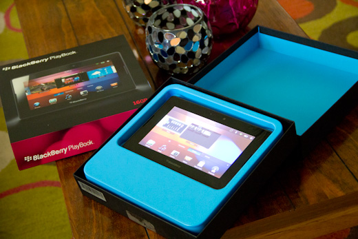 Blackberry Playbook 1 Review: The BlackBerry Playbook, Thoughtless and Untested