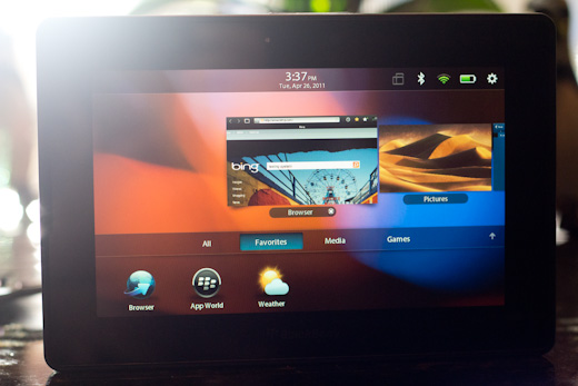 Blackberry Playbook 13 Review: The BlackBerry Playbook, Thoughtless and Untested