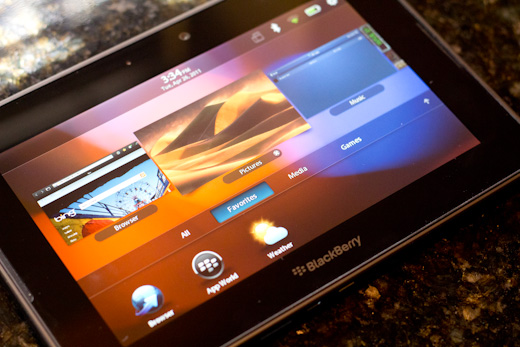 Blackberry Playbook 8 Review: The BlackBerry Playbook, Thoughtless and Untested