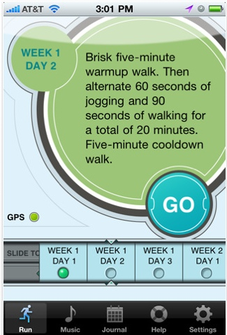 C25K 7 Awesome iOS Apps to Stay Fit