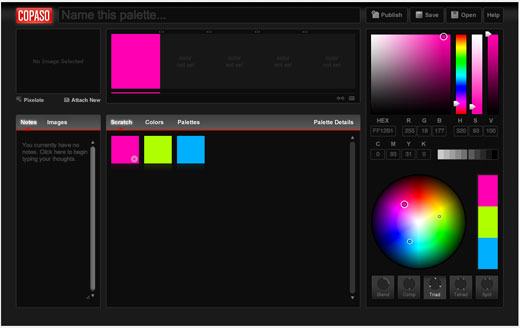 Copaso 7 Tools for Managing Your Color Palettes