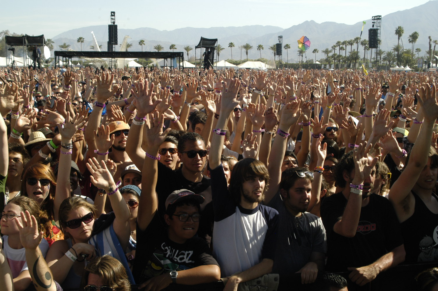 A look at Coachella and Wrigley's new Twitter Campaign
