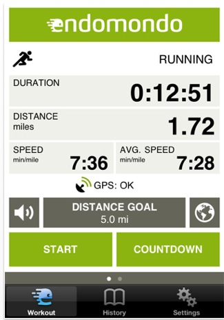 Endomondo 7 Awesome iOS Apps to Stay Fit