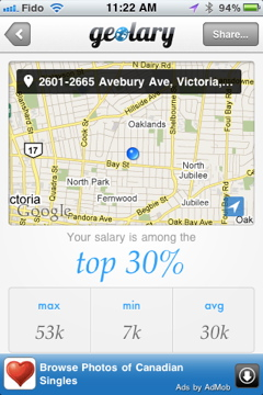 IMG 0904 Geolary compares your salary to others in your neck of the woods