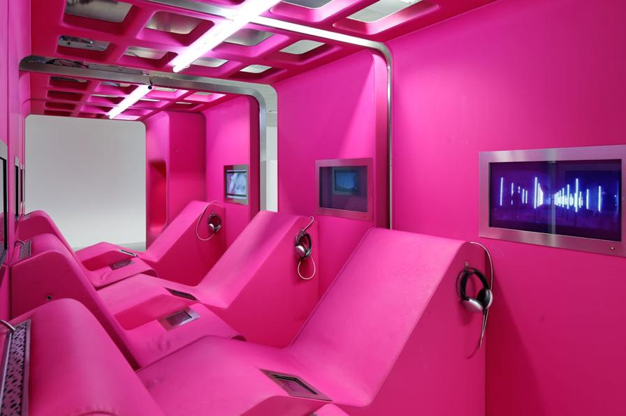 Manuelle Gautrand La Gaîté Lyrique 2 Gorgeous New Centre for Digital Art and Music in Paris [Photos]