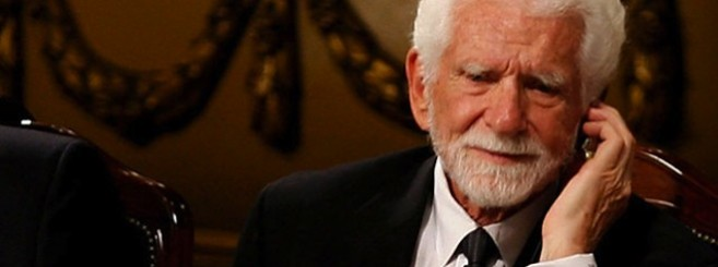 Martin Cooper at a 2009 ceremony in the northern Spanish city of Oviedo where he received a research award