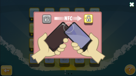 NFC free tutorial 1 520x291 Rovio To Launch Angry Birds Free with Magic, Requires NFC To Unlock Levels