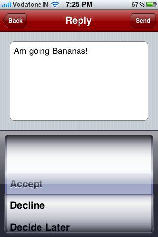 Sending a Reply