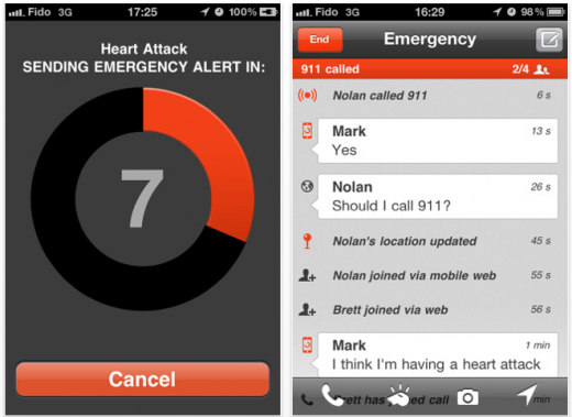 Picture 3 520x379 Guardly: An iOS app that may save your life