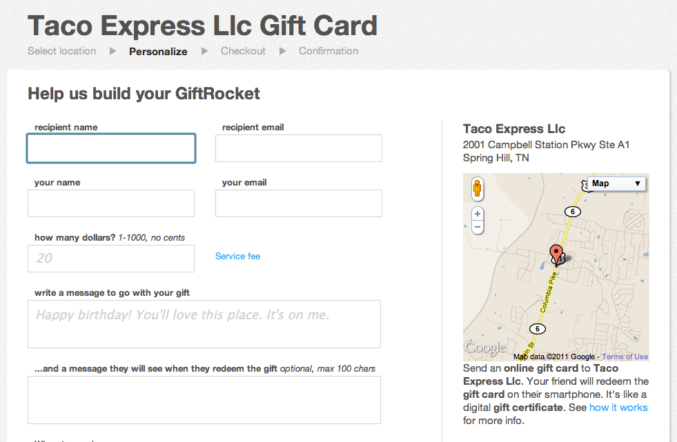 Giftrocket Free Gift Card Program Works Anywhere Tnw Apps