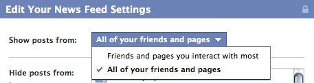 Screen shot 2011 04 15 at 11.46.46 AM Facebook, you dont know me. Please stop hiding my friends.