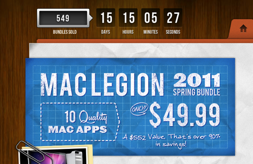 Screen shot 2011 04 27 at 8.54.23 AM MacLegion Announces Spring Bundle 2011