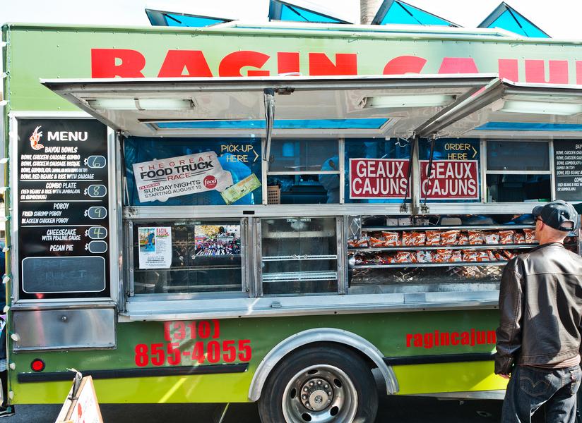 Following Food Trucks with Social Media Drive