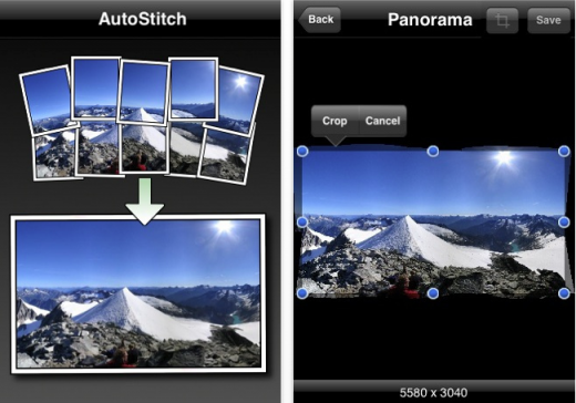 autostitch pano 520x364 The Top 30 Best Photography Apps for iPhone